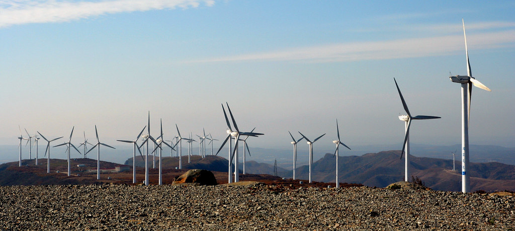Windpower in the Belt and Road Initiative